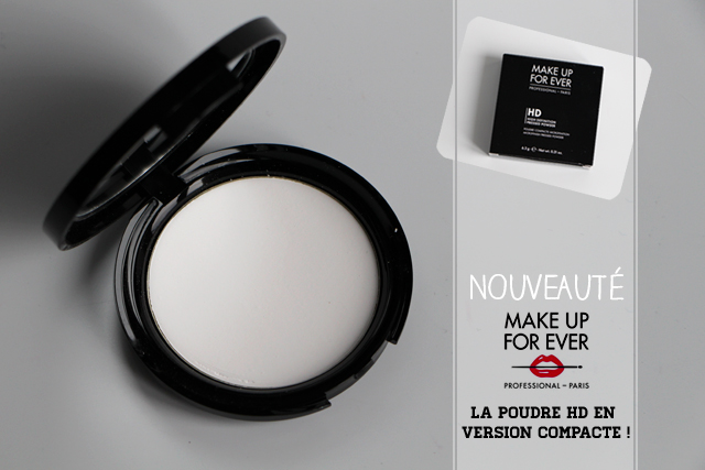 poudre compacte HD makeup for ever