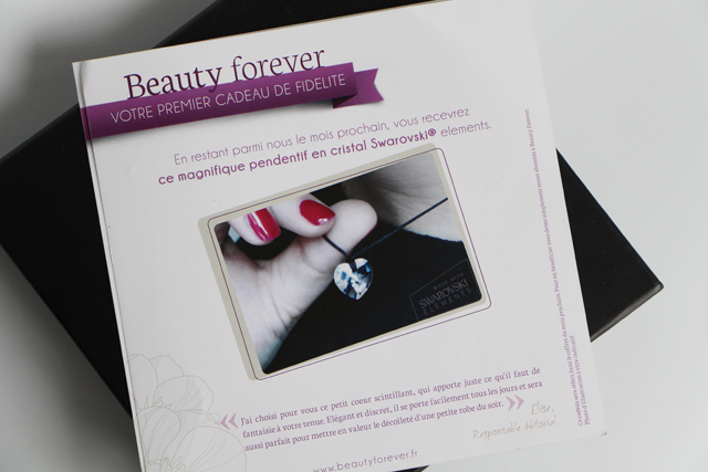 beauty for ever box gift