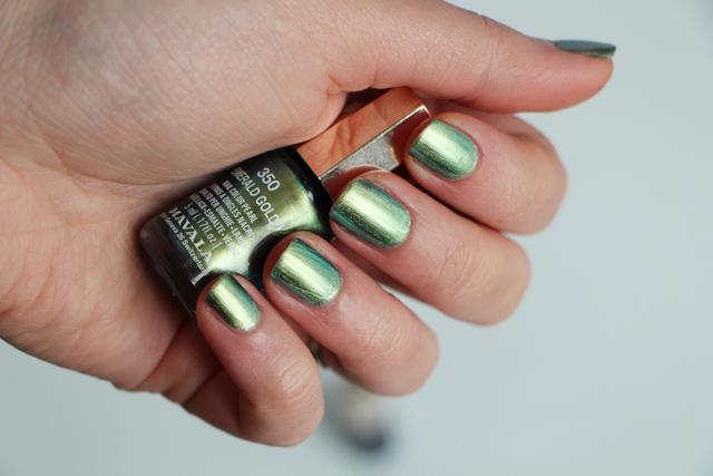 emerald gold mavala 11