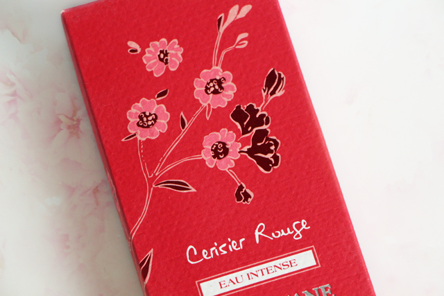 occitane cerisier rouge red cherry