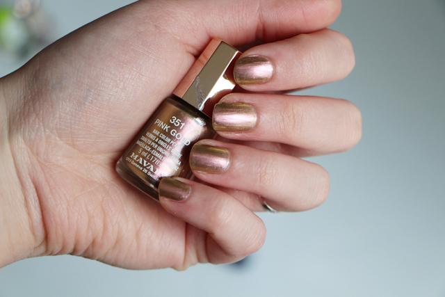 pink gold mavala