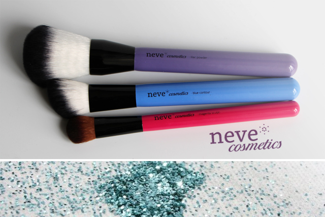 neve cosmetics pinceaux