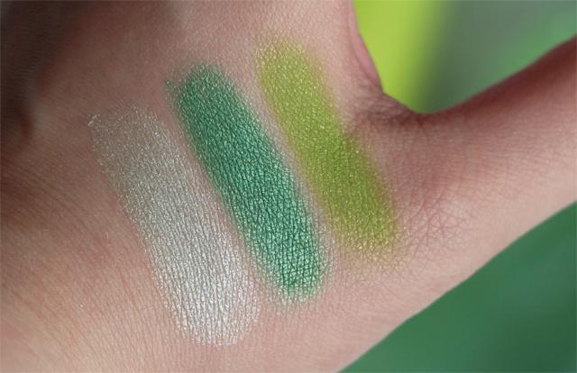 juillet vert swatch