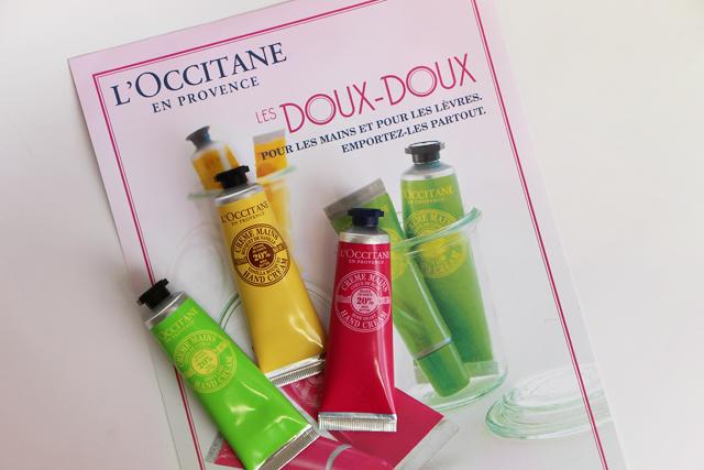 loccitane karite parfume cremes mains