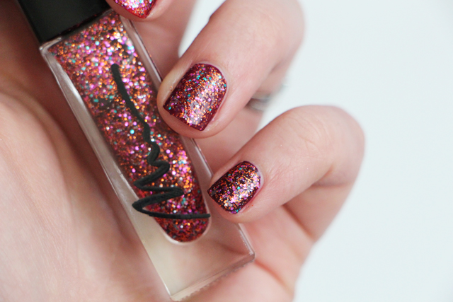 marionnaud top coat paillettes