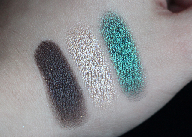 smashbox swatches on the rocks palette