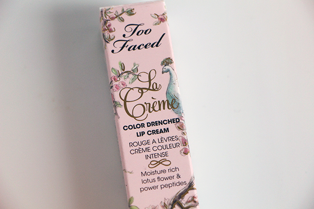 too faced in the buff la creme