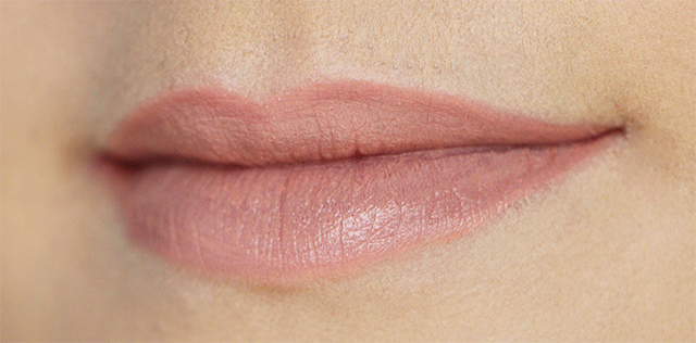 lips melted nude