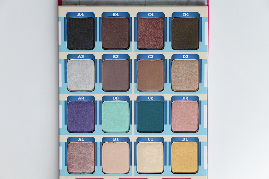 the balm palette fards