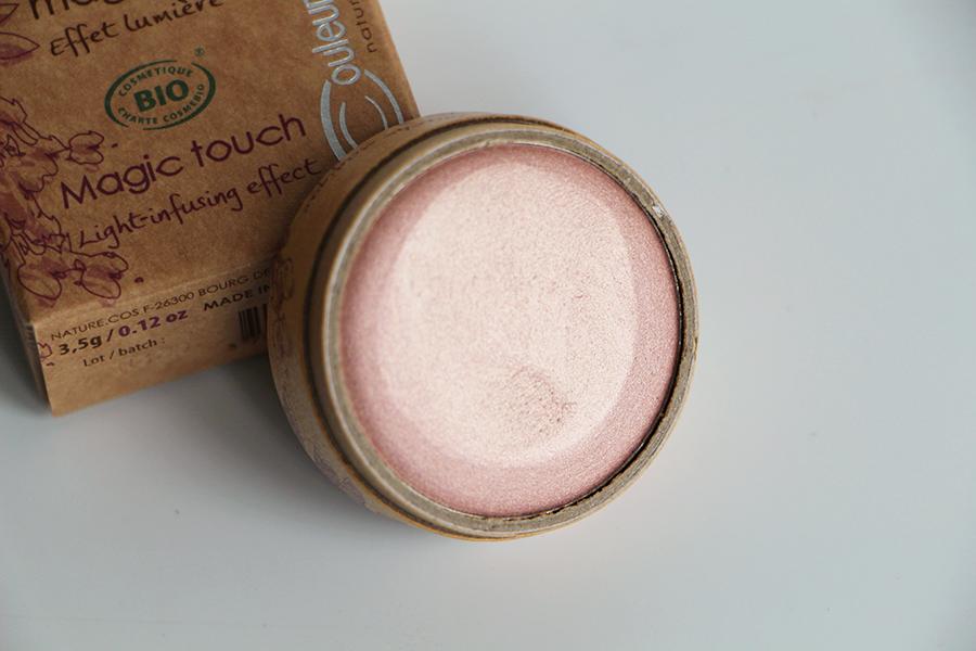 touche magique couleur caramel