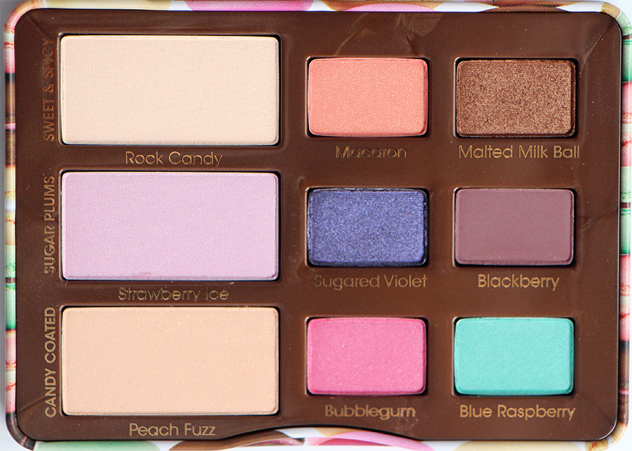 sugar pop too faced palette