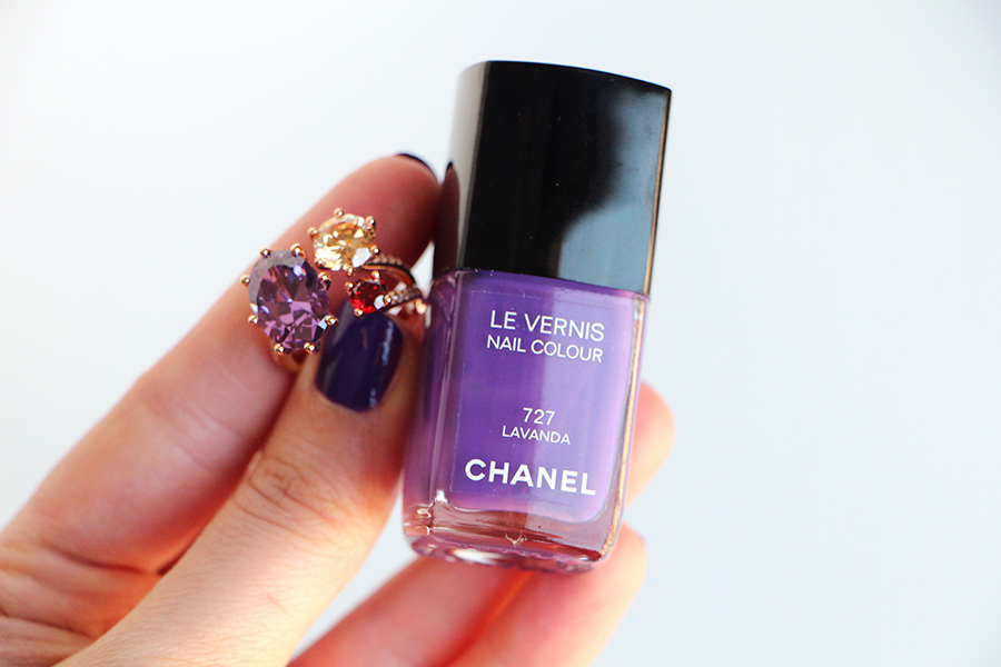 chanel lavanda and ring