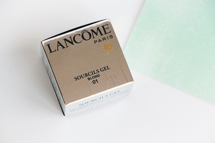 lancome sourcils gel blond packaging