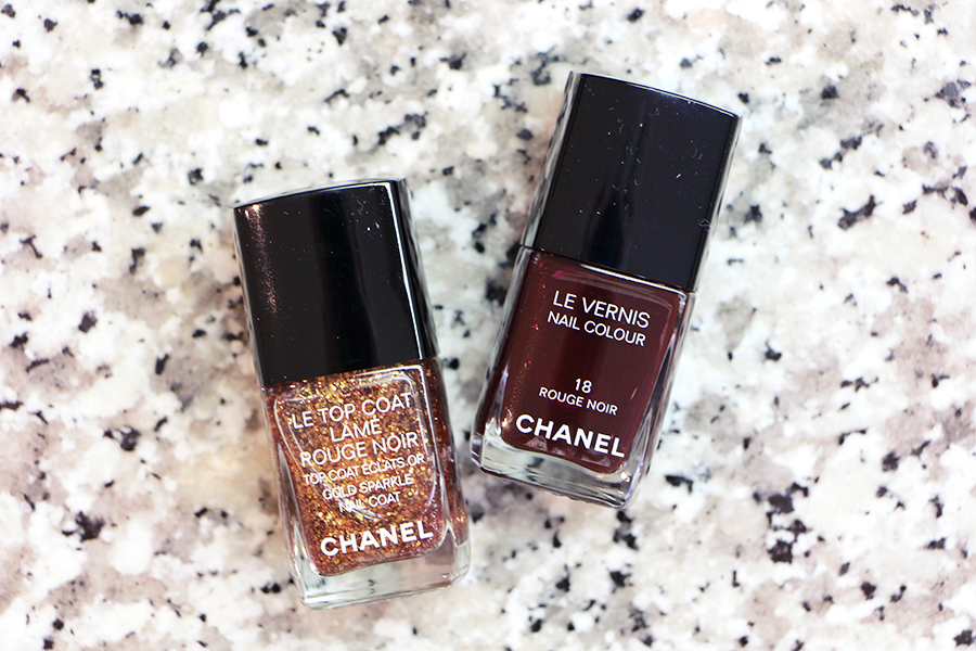 chanel vernis rouge noir collection1