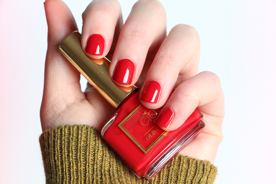 ciate swatch olivia palermo red