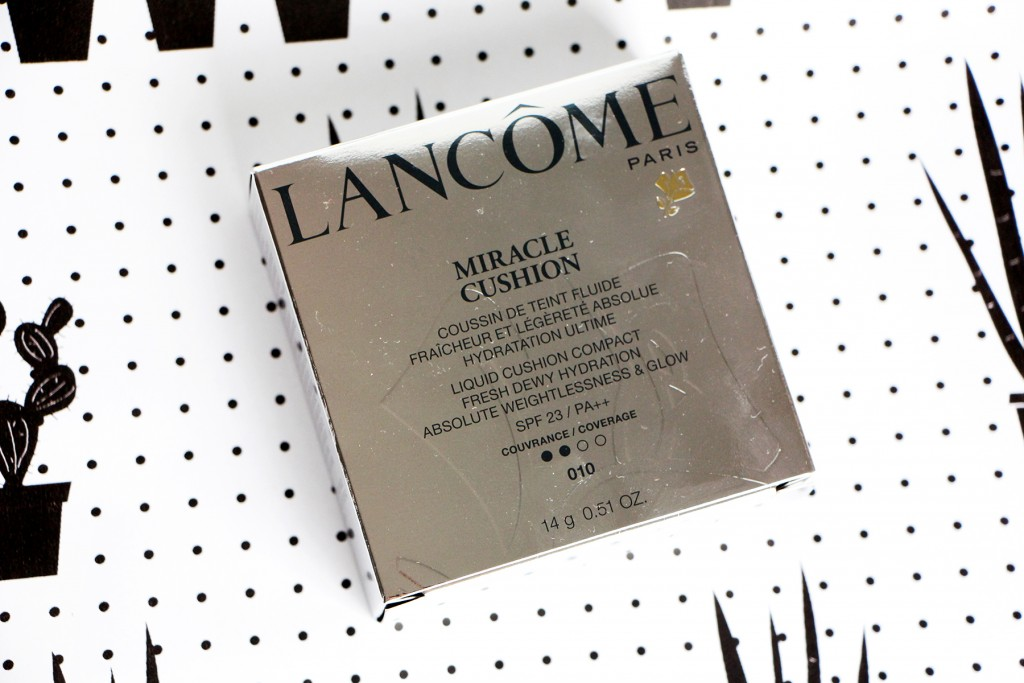 miracle cushion 010 lancome