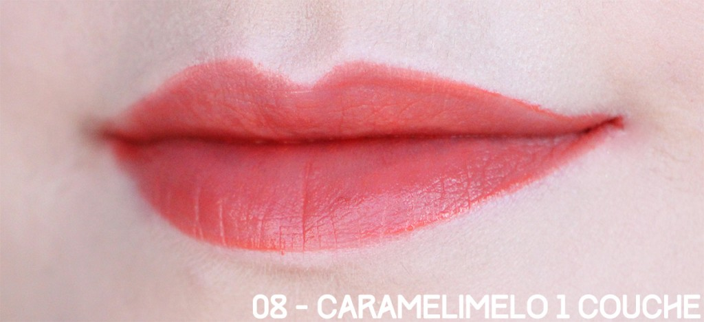 08 caramelimelo 1 couche bourjois
