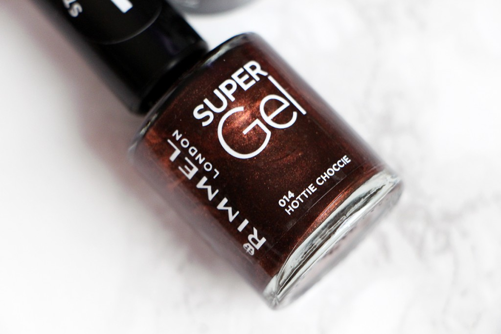 hottie choccie rimmel super gel