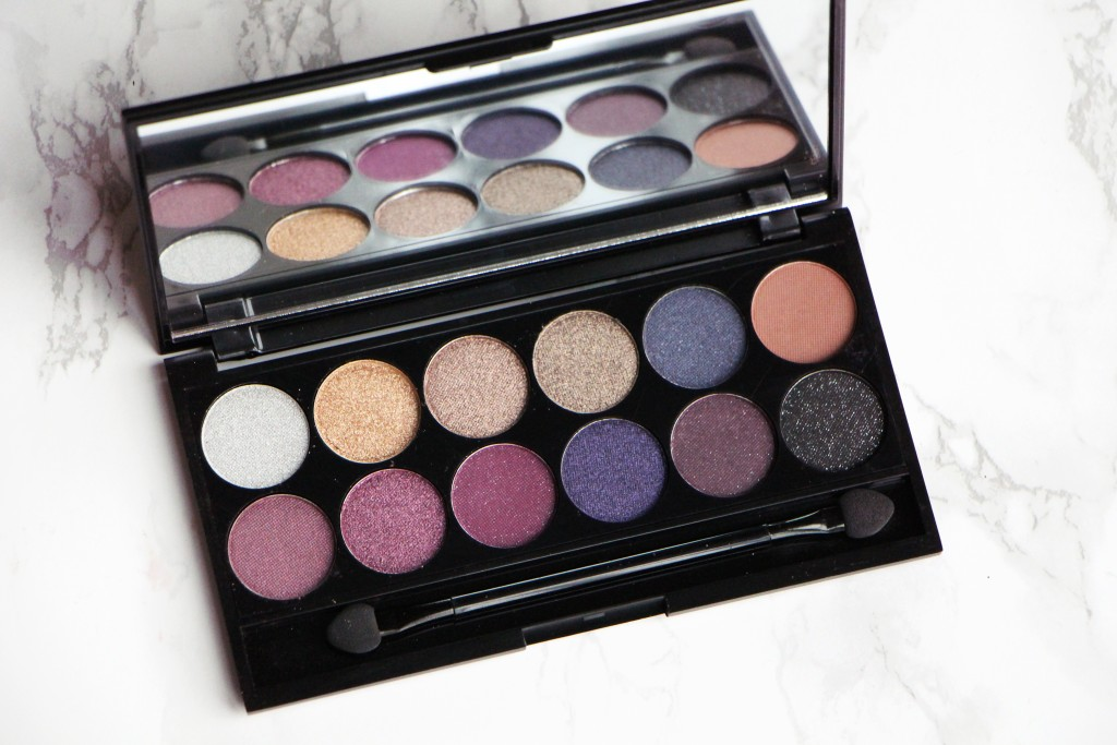 sleek palette vintage romance eyeshadows