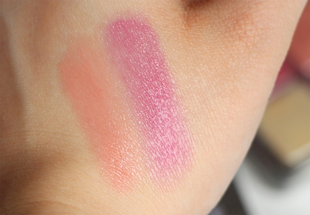 lancome swatch lips 1