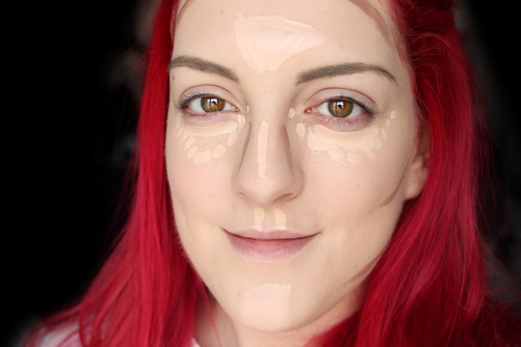 nyx face sculpt and contour