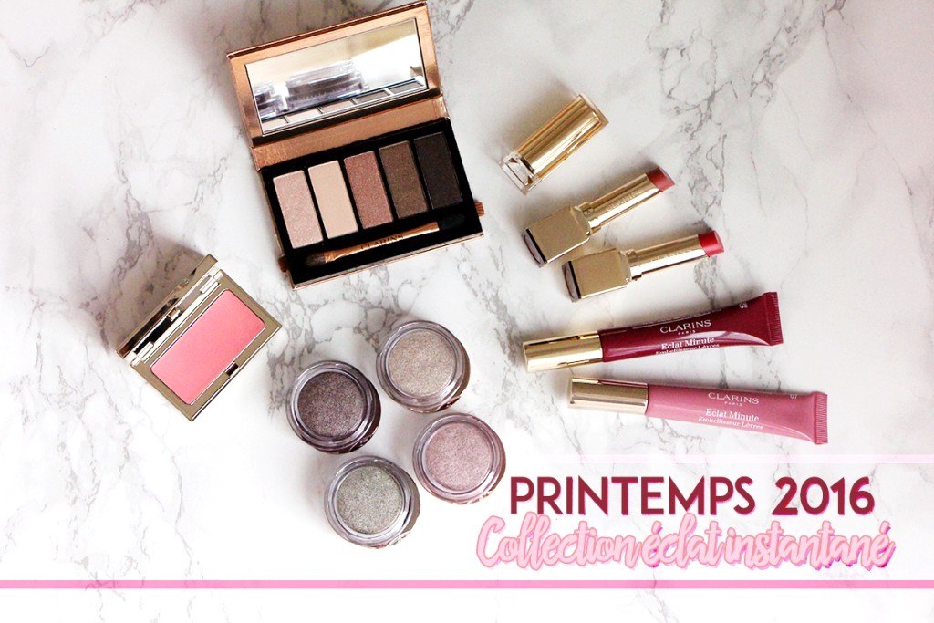 clarins collection eclat instantané printemps spring