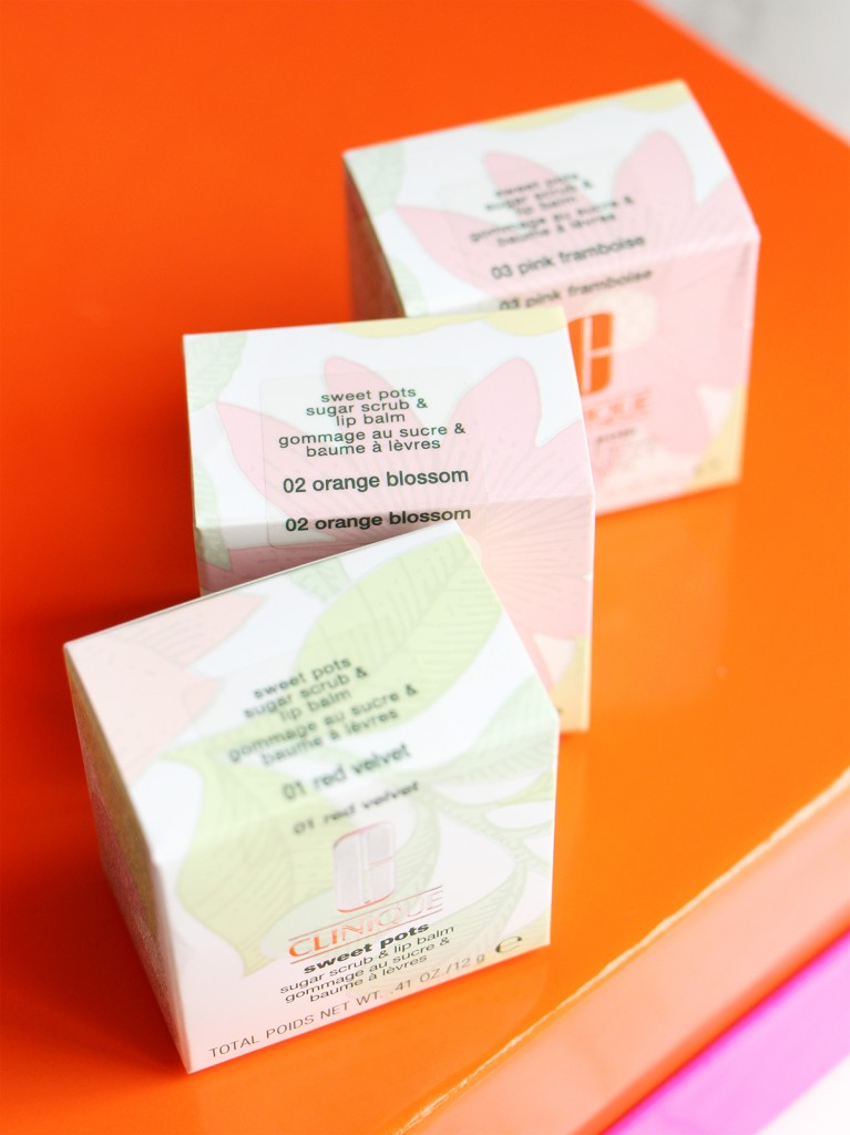 clinique packaging sweet pots