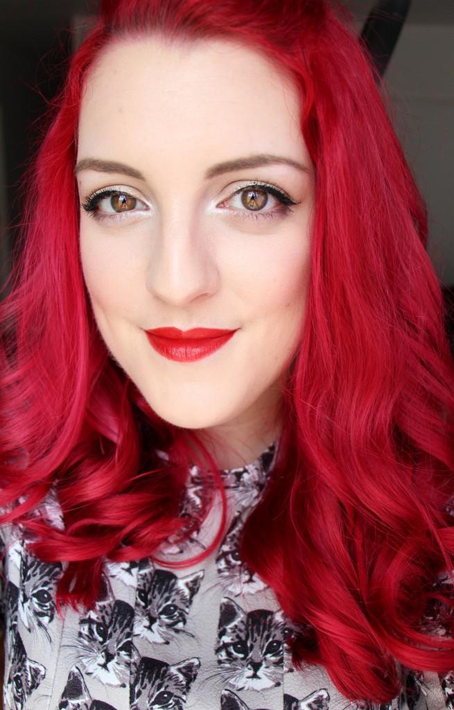 givenchy carmin escarpin face swatch lipstick