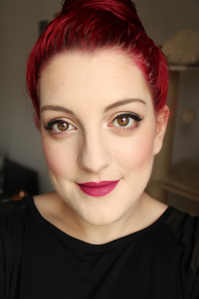 kiko 314 lipstick velvet passion matte face