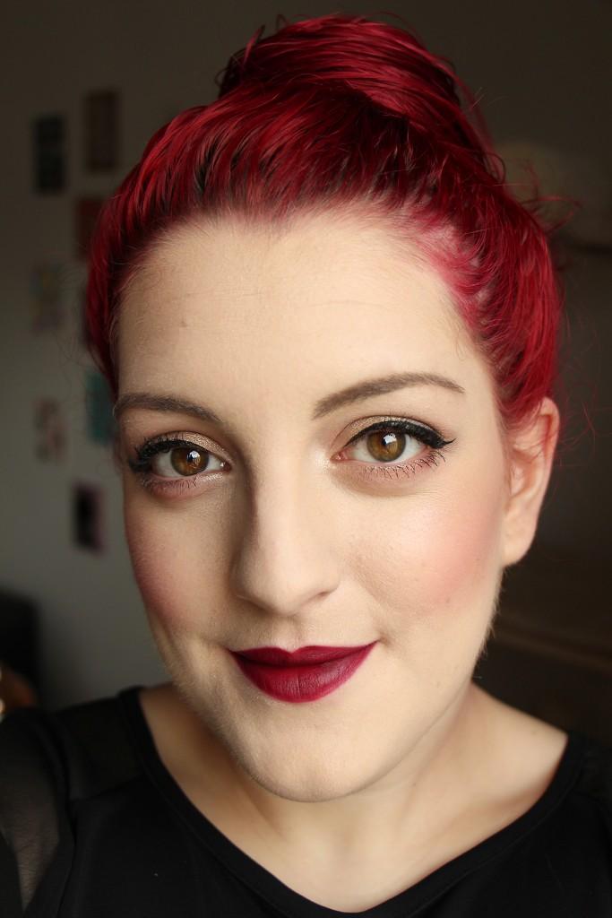 kiko velvet passion matte 318 lipstick face