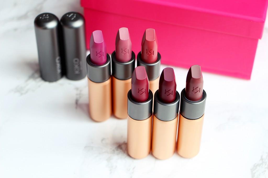 kiko velvet passion matte lipsticks1