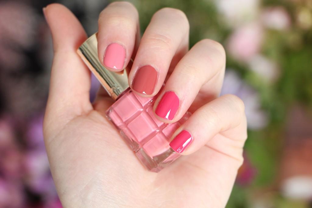 loreal nails pink