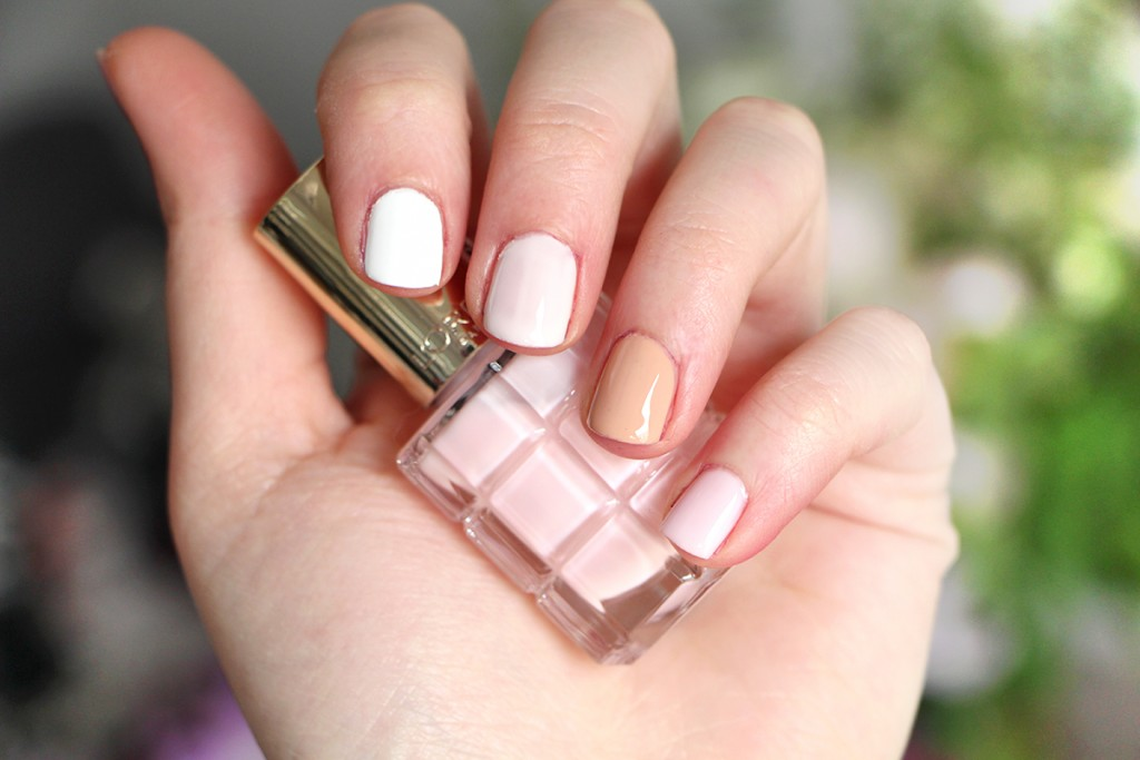 loreal vernis a lhuile swatch 1