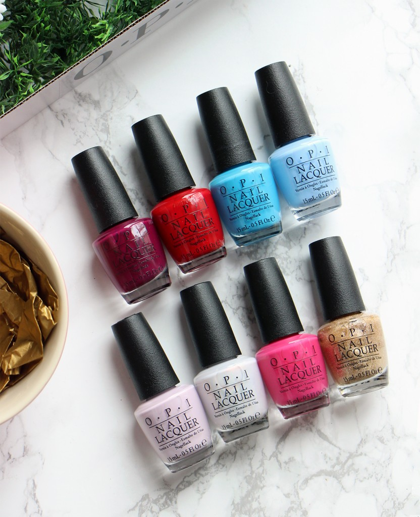 OPI nail lacquer alice