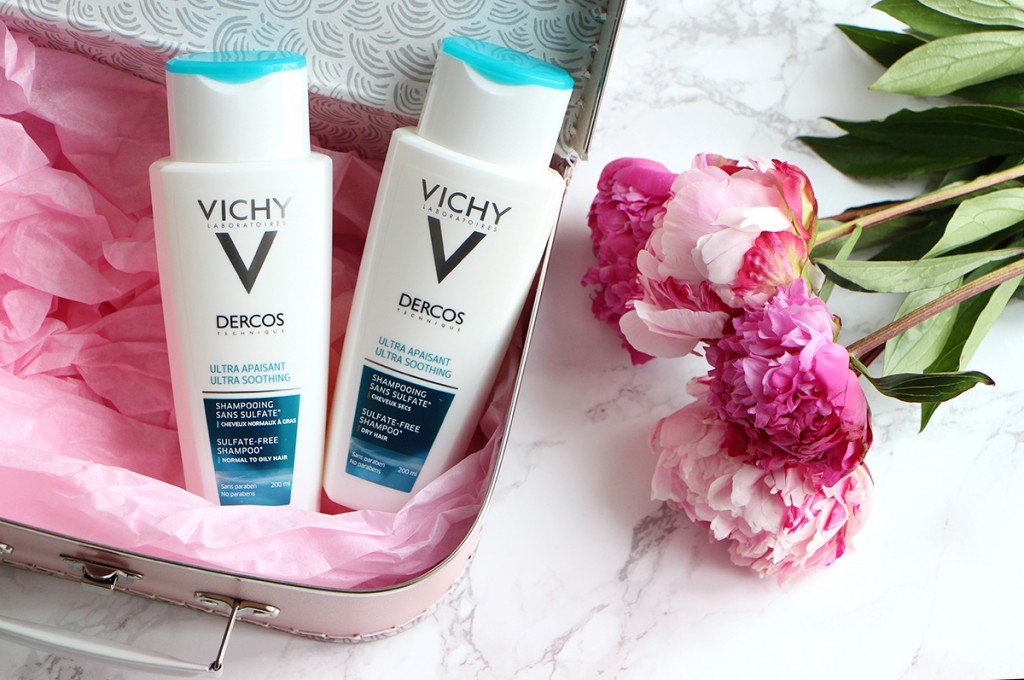 dercos flacons vichy shampoing