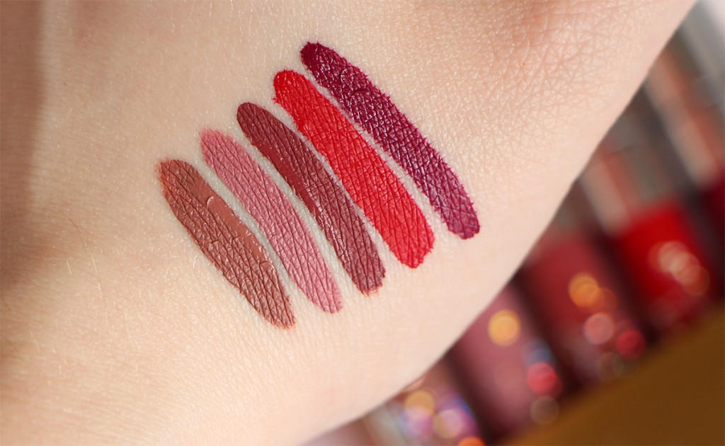 foxy swatches times colourpop