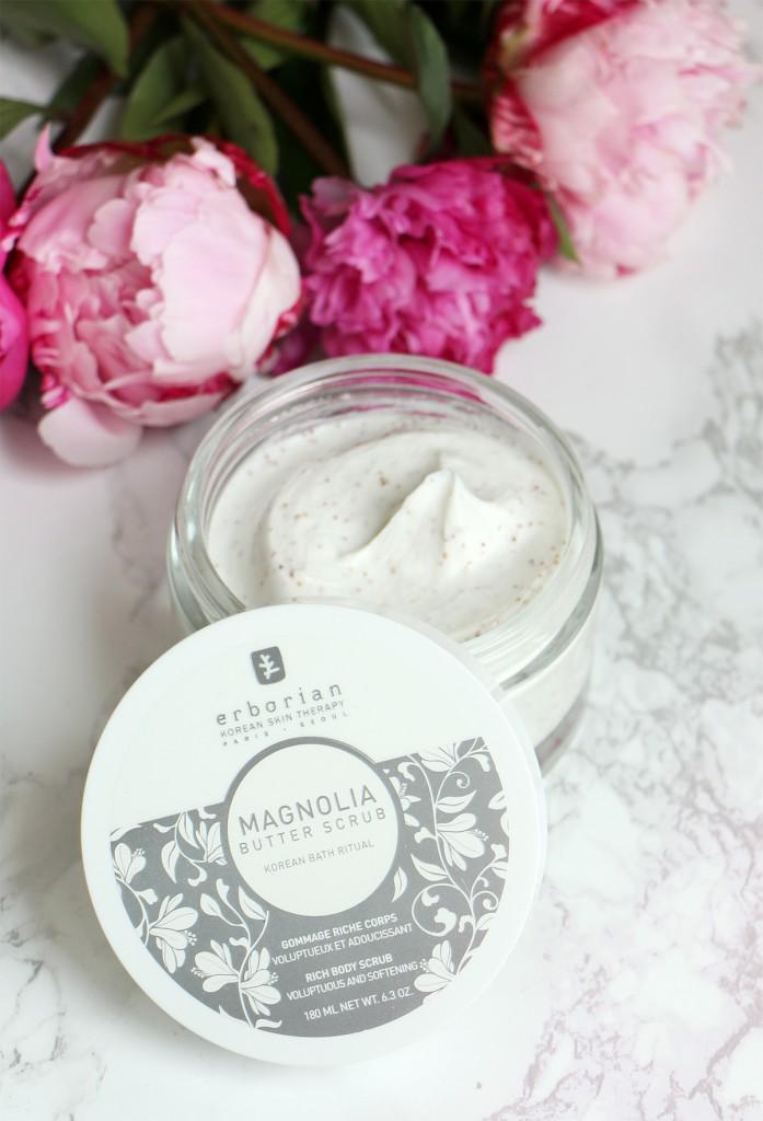 magnolia butter scrub erborian