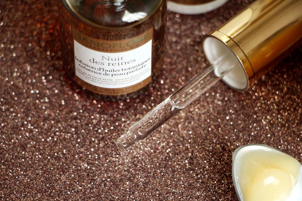 nuit des reines sanoflore infusion d'huiles avis