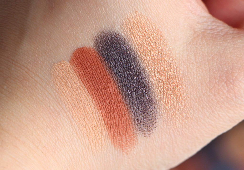 anastasia palette couture shadows SWATCHS 3