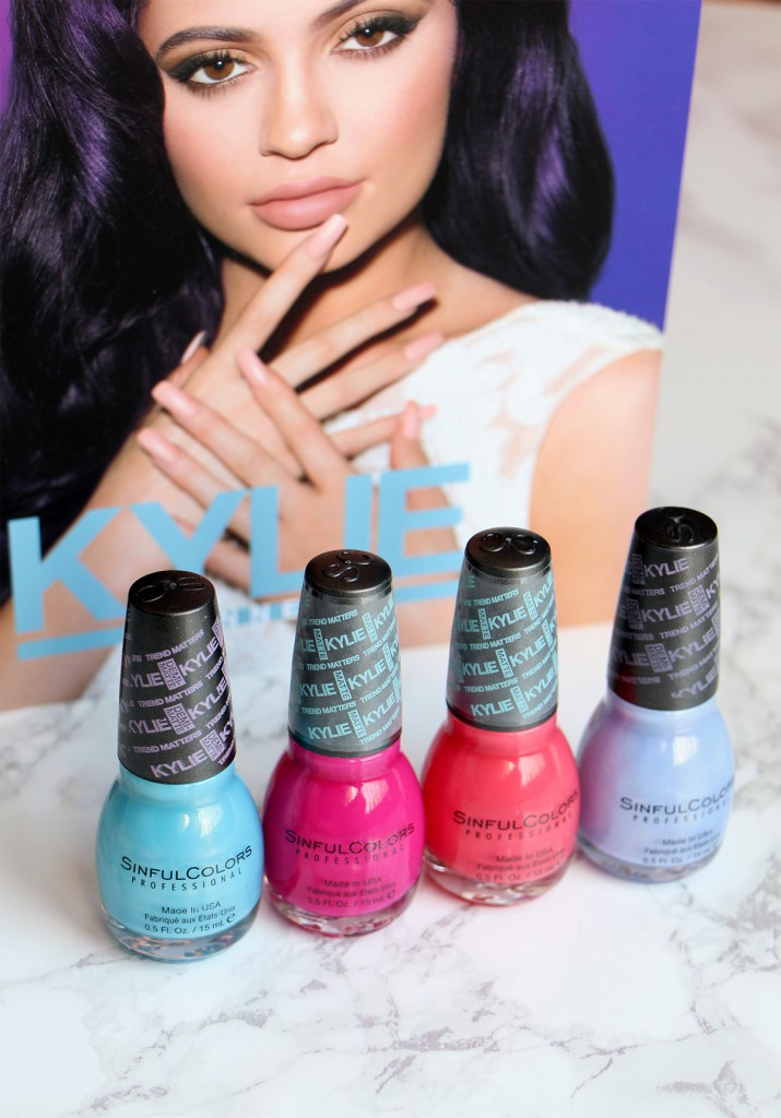 sinful colors vernis blue kylie jenner - Vernis Sinful Colors