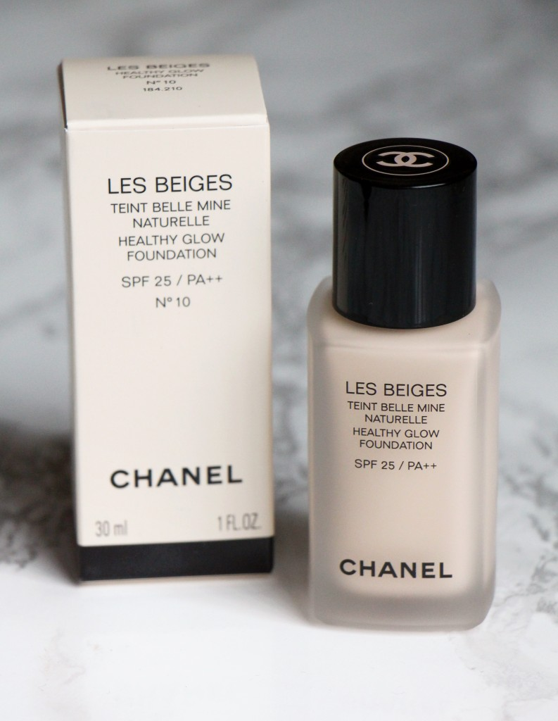 les beiges chanel teint belle mine SPF 25 blog beaute