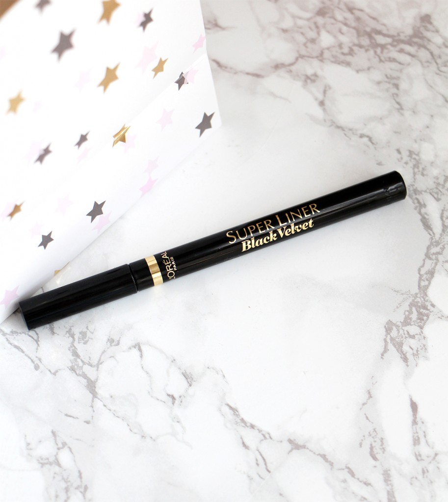 super liner black velvet loreal blog beaute revue