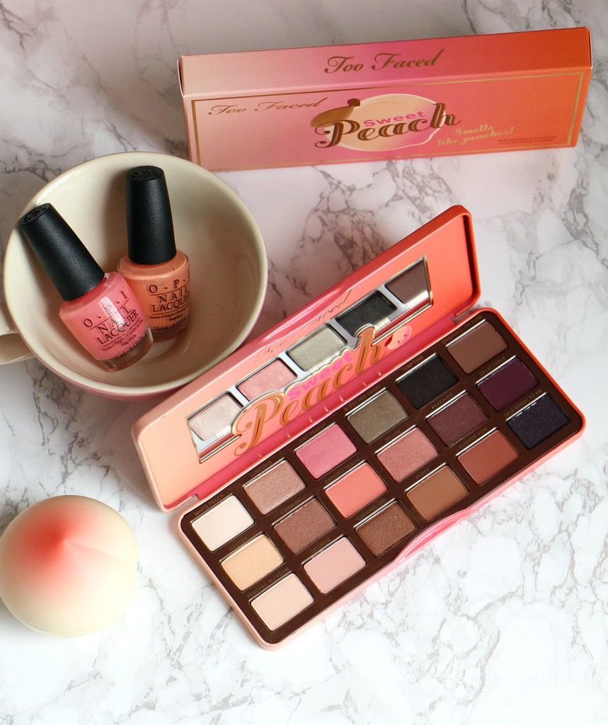 sweet peach palette revue blog beaute swatch
