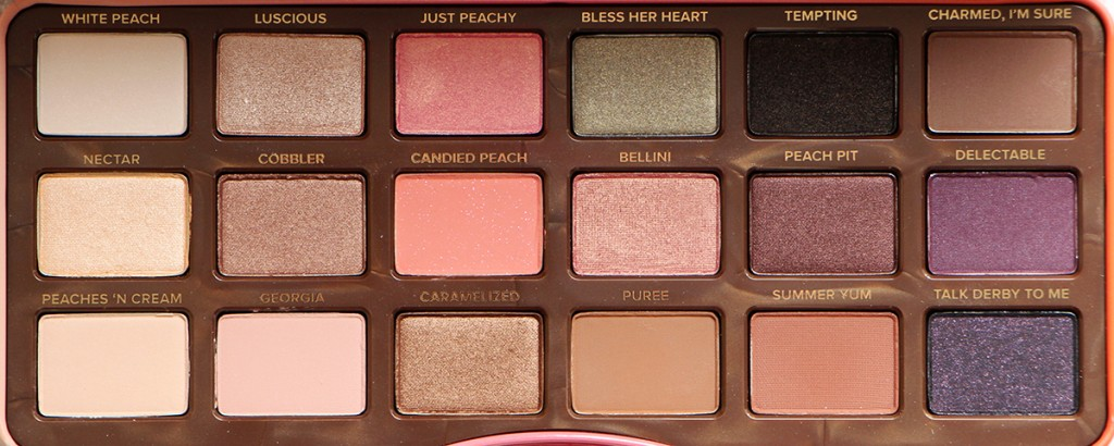 sweet peach too faced fards palette zoom