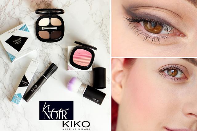 f0647344e47 Aujourd'hui je vous propose de jeter un coup d'oeil à la nouvelle  collection Neo Noir de KIKO : la marque de maquillage italienne est très  active quand aux ...