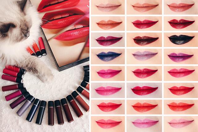 Ultra LIPTENSITY, le nouveau rouge à lèvres MAC (swatches des 24 teintes ZU-65