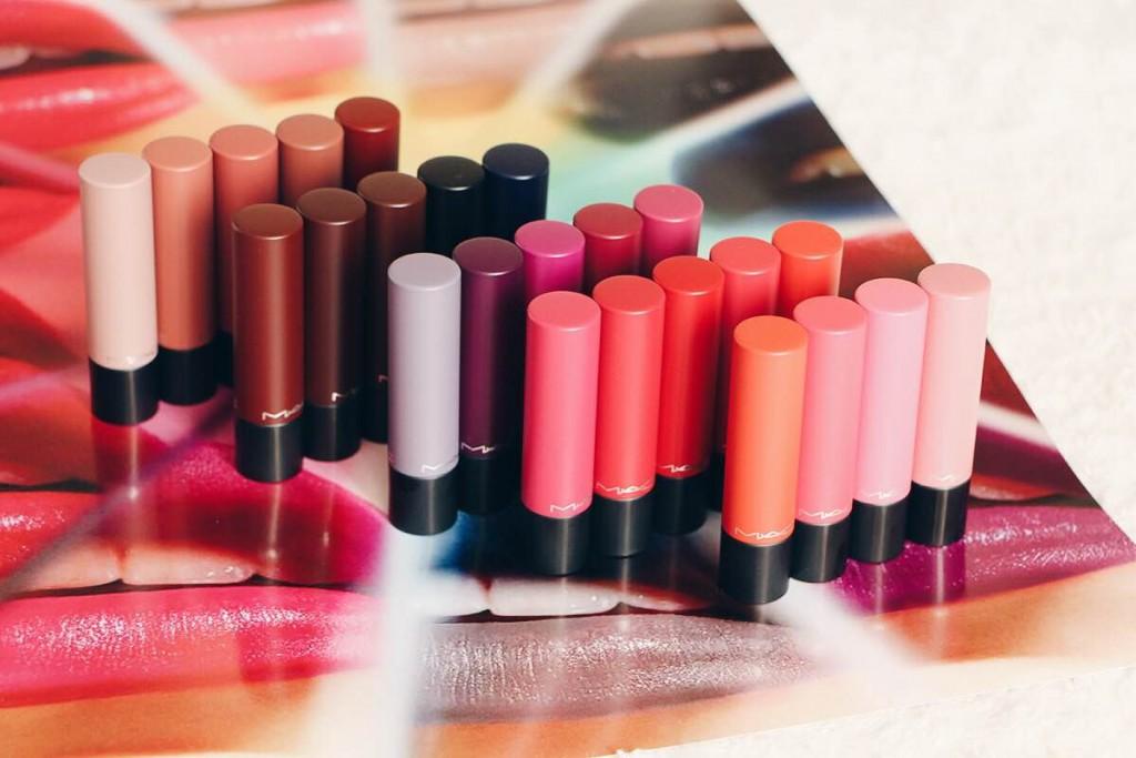 Admirable LIPTENSITY, le nouveau rouge à lèvres MAC (swatches des 24 teintes SA-29