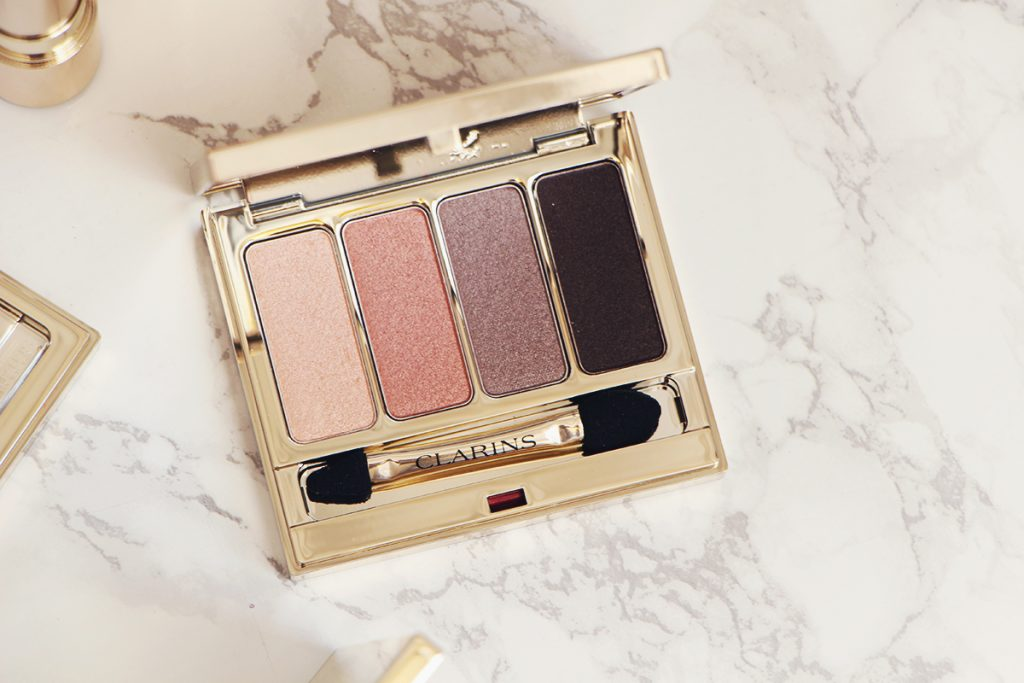 clarins nude palette 4 couleurs
