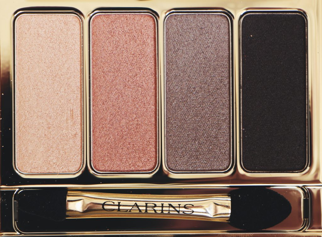 clarins palette 4 couleurs nude