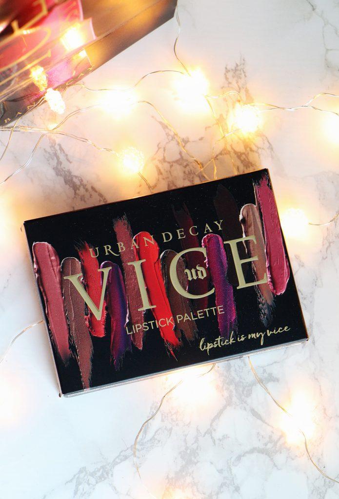 vice lipstick palette urban decay revue avis